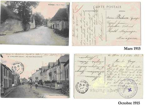 CARTES POSTALES 1915 - Le blog de karineandco.over-blog.fr | Rhit Genealogie | Scoop.it