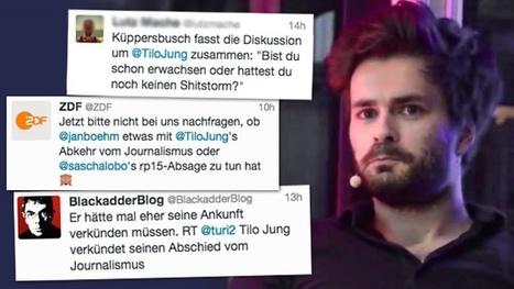 Abschied vom Journalismus: Die hämischen Reaktionen auf Tilo Jungs Rücktritt | Mediaclub | Scoop.it
