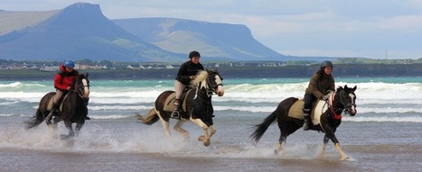 Horse Riding on The Beach - Donegal Equestrian Centre, Ireland | World Holidays | Scoop.it