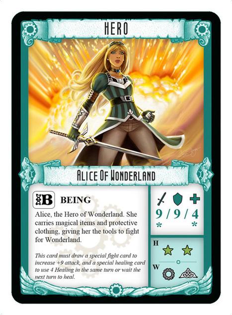 Alice of Wonderland | Multiverse of Magic the Gathering | Scoop.it