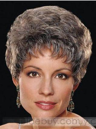 Graceful Short Light Brown Curly about 8 Inches Best Wig | stylish world | Scoop.it