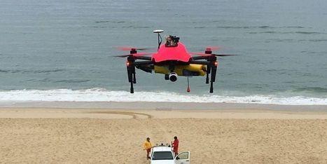Sécurité des plages : un drone pour sauver des vies | Drone | Scoop.it