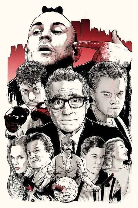 Scorsese: an art show tribute – Spoke Art Gallery | All Geeks | Scoop.it