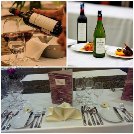 Guns to Gewürztraminer!: Jacob's Creek Longest Reserve Table: Fine dining à la style grande | Wine and Spirits:The Indian Scenario | Scoop.it