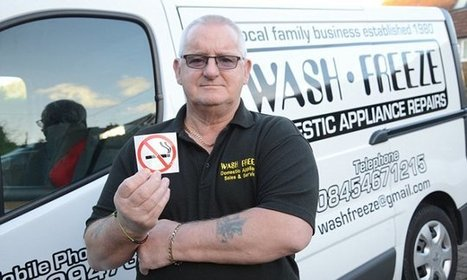 Workman fined £150 for not displaying a 'No Smoking' sign in van | Vince Tracy Podcasts and Information | Scoop.it