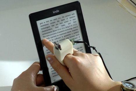 Ces objets connectés qui soulagent les handicaps - LeFigaro | Vous avez dit Innovation ? | Scoop.it