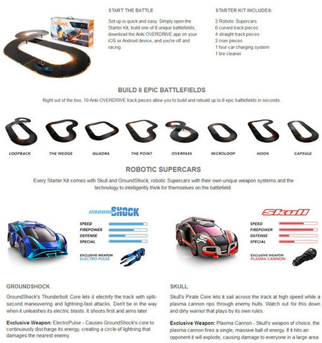 Lulus Cool Finds: Anki OVERDRIVE Starter Kit - Bestselling Gift for 8 to 15 Year Olds | Cool Finds From Cyberspace | Scoop.it