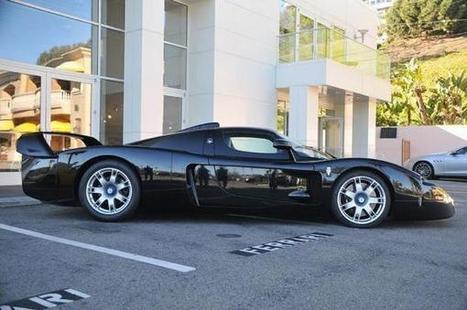 Black Maserati MC12 Comes up for Grabs in California | modifycar.org | Scoop.it