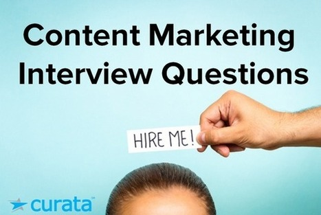 Content Marketing Interview Questions | Digital-News on Scoop.it today | Scoop.it