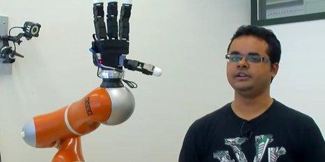 Ce bras robotique ultra-rapide peut attraper des objets au vol | Revue de presse en Automatisation Industrielle | Scoop.it