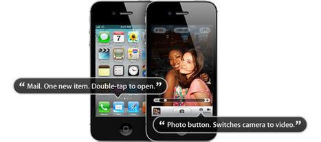 Så hjälper Apple blinda ta foton - IDG.se | Folkbildning på nätet | Scoop.it