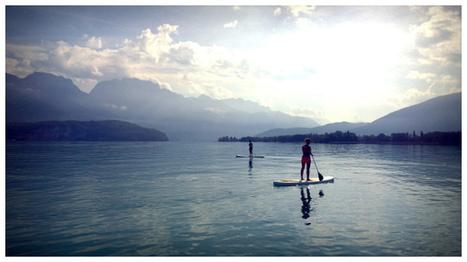 Un dimanche de paddle ! 24°C et grand soleil ! - | Annecy | Scoop.it