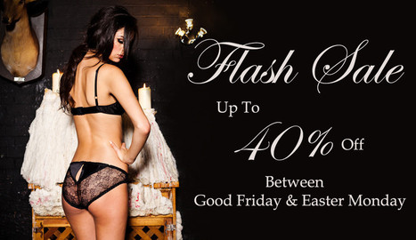 40% off Ayten Gasson - Luxury Silk Lingerie Made In Britain | Lingerie Love | Scoop.it