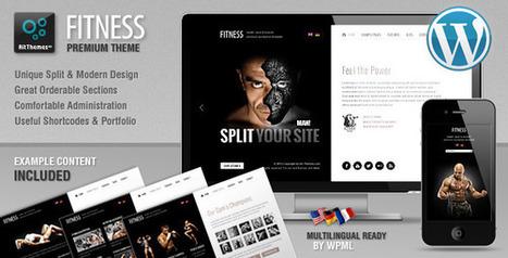 Fitness: Unique design meets Wordpress   Medical wordpress themes   Scoop.it