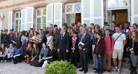 Lycéens et collégiens font leur devoir de mémoire | Collège Jean Moulin | Scoop.it