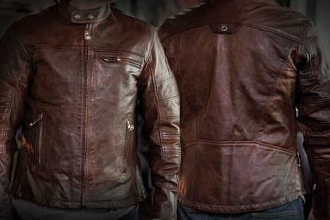 ROLAND SANDS DESIGN RONIN LEATHER JACKET | Vintage Motorbikes | Scoop.it