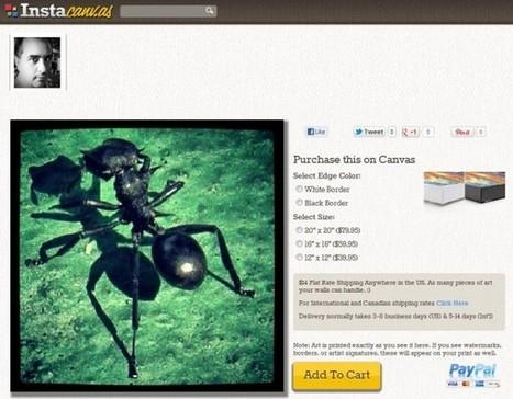 Crea una galería de arte con tus fotos de Instagram y vende por Internet | VIM | Scoop.it