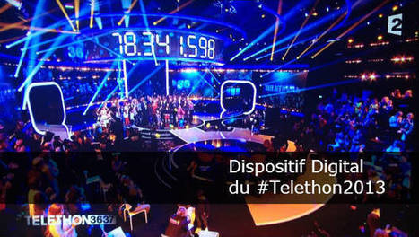 Retour sur le dispositif digital du Téléthon 2013 : moyens, organisation et résultats - French SocialTV | Social TV is everywhere | Scoop.it