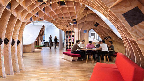 Lessons On Designing For Creativity From 16 Of The World's Coolest Offices | @liminno | Scoop.it