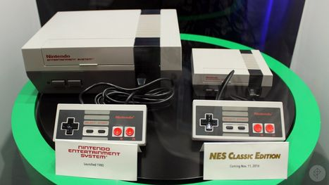 Up close with Nintendo's new NES Classic Edition | Fle7 | Scoop.it