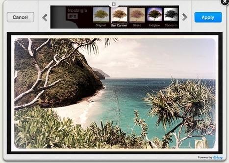 Aviary Fornisce Gratuitamente agli Sviluppatori di App Tutto il Necessario per la Modifica delle Immagini   Editare Immagini   Scoop.it