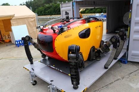 Crab-Like Sea Rover Walks on Six Legs | #Technology | Scoop.it