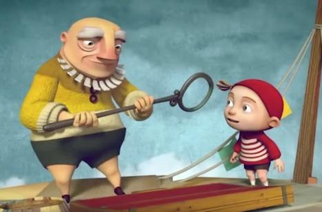 Un joli dessin animé pour tous les enfants qui ont la tête dans les nuages :) | FLE enfants | Scoop.it