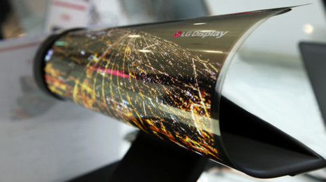 CES: LG zeigt aufrollbares OLED-Display | Technology | ICT | 21st Century Innovative Technologies and Developments as also discoveries, curiosity ( insolite)... | Scoop.it