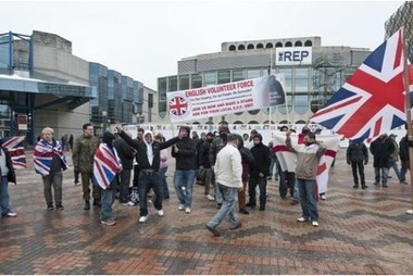 English Volunteer Force demo | Nationalist Media Network | Scoop.it