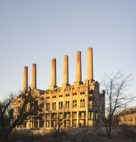 Germany: An abandoned cement works | Industrial Heritage | Scoop.it