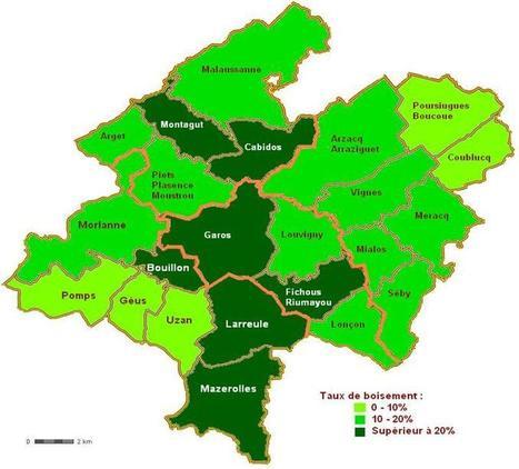 Communauté de Communes du Canton d'ARZACQ - Forêts   Interprofession Forêt Bois des Pyrénées-Atlantiques   Scoop.it
