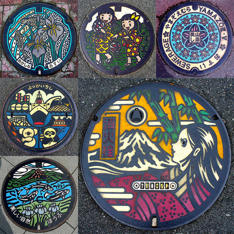 The Beauty of Japan's Artistic Manhole Covers | Books, Photo, Video and Film | Scoop.it
