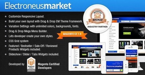 45+ Best Responsive Magento Themes | AWD | Web Designs | Scoop.it