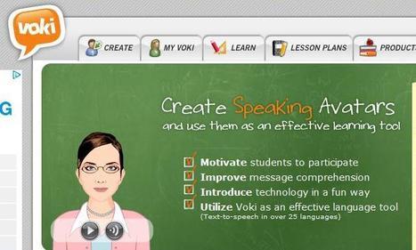 Voki Home | Tecnología Educativa & Psicología Educativa | Scoop.it
