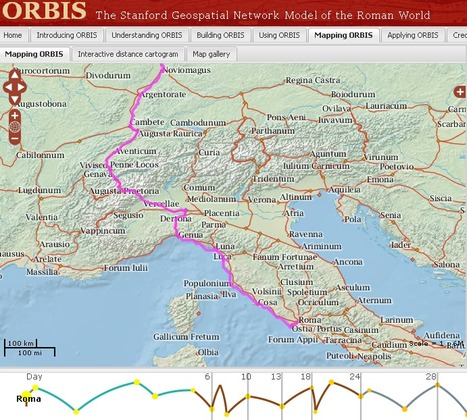 Online travel route planning - Date of departure: 2000 years ago | Net Gems | Scoop.it