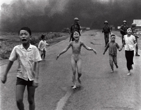 La petite fille brûlée au napalm - 1972   Guerre du Vietnam   Scoop.it