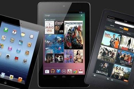 Shopping for a Tablet? iPad, Nexus 7, or Kindle Fire? Consider this.. | Mobile IT | Scoop.it