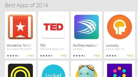Google shares its list of best apps of 2014 - Android Authority | E-Learning - Lernen mit digitalen Medien | Scoop.it
