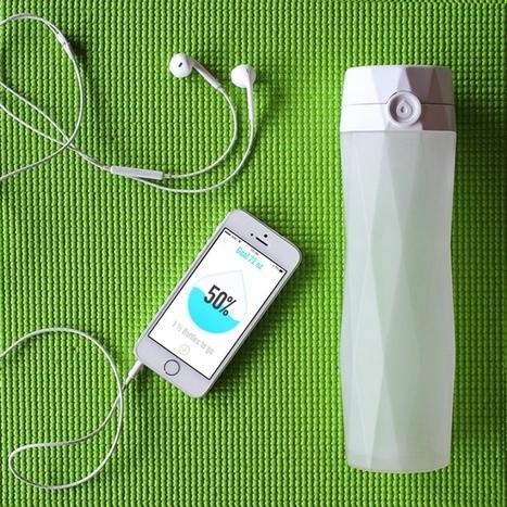 HidrateMe Smart Water Bottle helps you track your water intake for #quantifiedSelf junkies via @kickstarter | Data Centre - Industry | Scoop.it