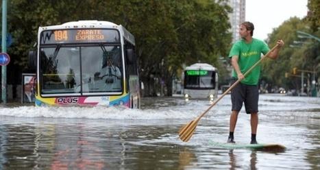 En Buenos Aires, el impacto del cambio climático se mide en milímetros de lluvia | La destruccion del medio ambiente en el cono sur | Scoop.it