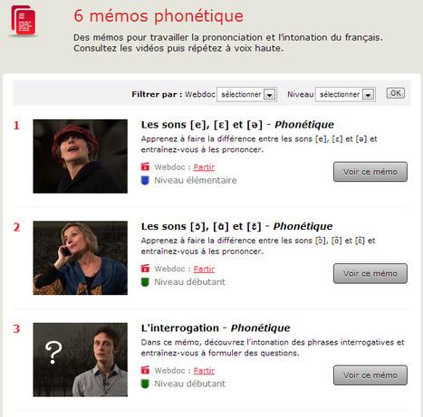 Phonétique - Parlons français, c'est facile ! | Remue-méninges FLE | Scoop.it