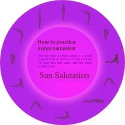 Surya Namaskar (Sun Salutation) steps and Benefits | TheQuotes.Net - Motivational Quotes | Famous Inspirational Quotes | Scoop.it
