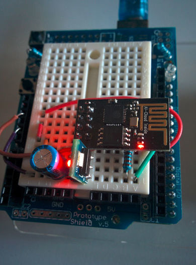 Cheap Arduino WiFi shield with ESP8266 - Electronics-Lab | Raspberry Pi | Scoop.it