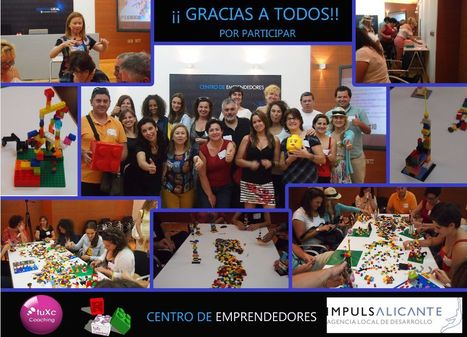 ¡¡Exitoso!! Taller de LEGO SERIOUS PLAY en el Centro de Emprendedores y organizado por #IMPULSALICANTE y tuXc Coaching | LEGO SERIOUS PLAY & tuXc Coaching | Scoop.it