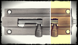 Four Steps to Replace Latches on Interior Doors | How Attach a Plastic Continuous Hinge on a Wooden Box | Scoop.it