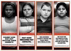 Anti-Childhood Obesity PSA Shames Fat Children » Sociological Images | Fat sociology and fat activism | Scoop.it