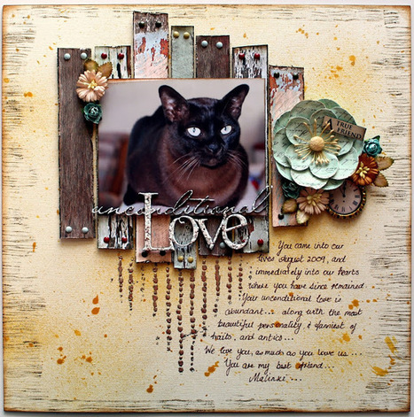 Delightfully Crazy: Ms Malinki - September Sketch - The Scrapbook Store | Crafting | Scoop.it