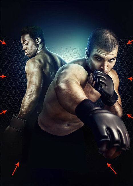 Create a Mixed Martial Arts Event Flyer in Photoshop - Tuts+ Design & Illustration Tutorial | Photoshop Tutorial | Scoop.it