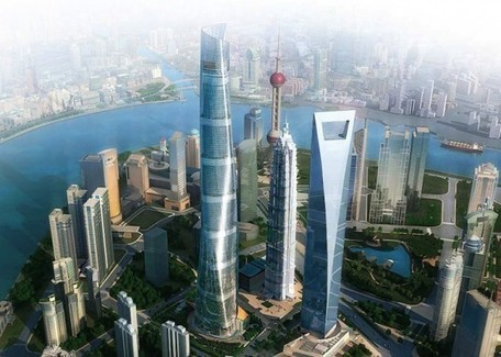 Gensler Tops Out World's Second Tallest Tower in Shanghai | sustainable architecture | Scoop.it