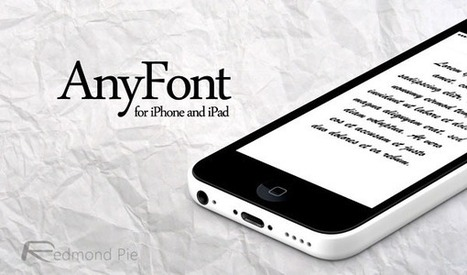 How To Install New Fonts On iPhone And iPad Without Jailbreaking | MarketingHits | Scoop.it